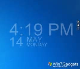 hd time windows 7 desktop gadget