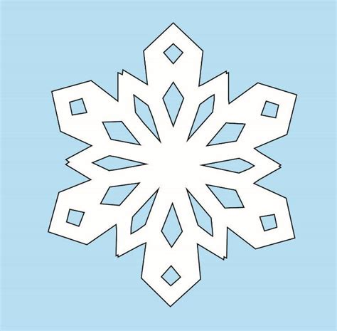 How Do U Make A Snowflake Out Of Paper - how to make paper snowflakes allfreechristmascrafts