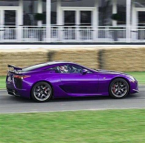 Purple Lexus Lfa Purple Purple