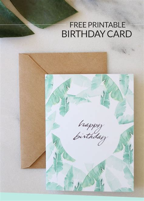 free cards to make the 25 best printable birthday cards ideas on