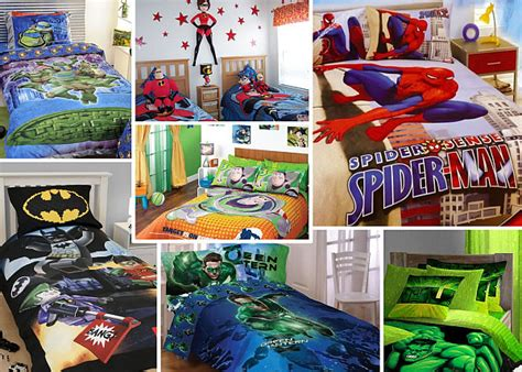 superhero bedrooms boys bedding 28 superheroes inspired sheets