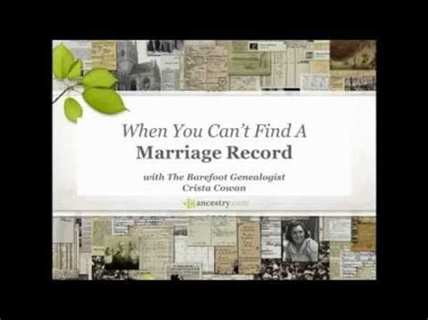 Search Of Marriage Records 25 Best Ideas About Marriage Records On