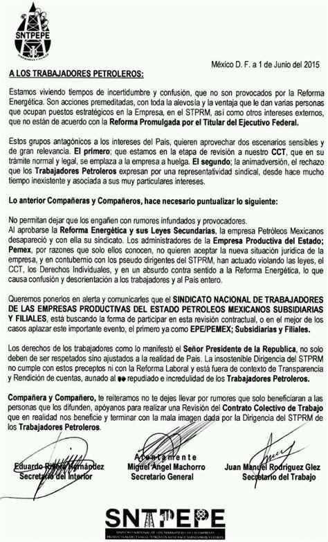 contrato colectivo de educacion 2016 pide sindicato disidente revisar contrato colectivo de