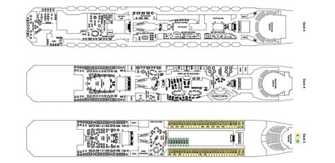 celebrity reflection floor plan celebrity reflection deck plan vacationsbysea