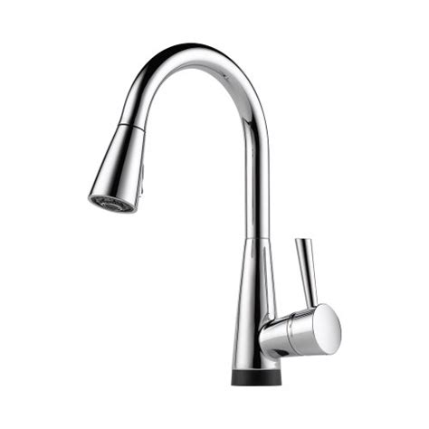 brizo kitchen faucet reviews how about brizo 64070lf pc venuto kitchen faucet single