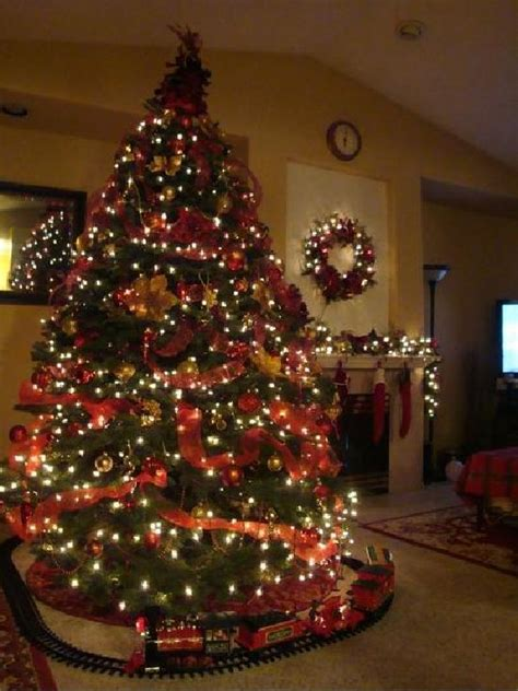 25 best ideas about christmas tree train on pinterest