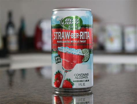 bud light strawberita alcohol content bud light lime strawberita i try it so you don t have to