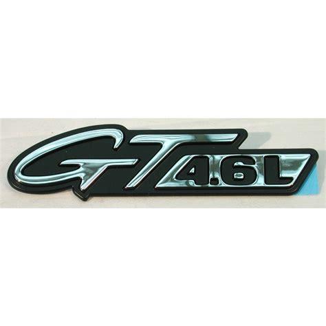 1996 1998 mustang emblem gt ford