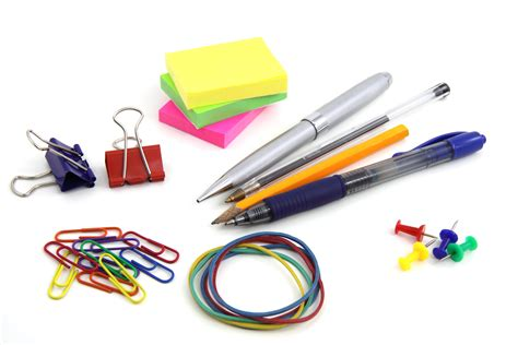 colorful office supplies design for mankind free images desk white plastic pen isolated color