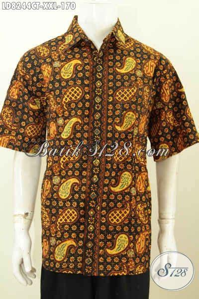 Batik Ukuran Jumbo Modis hem batik jumbo cowok gemuk pakaian batik modis motif