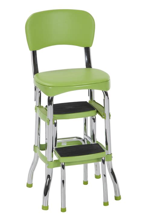 cosco step stool chair parts cosco retro chair step stool green chairs seating