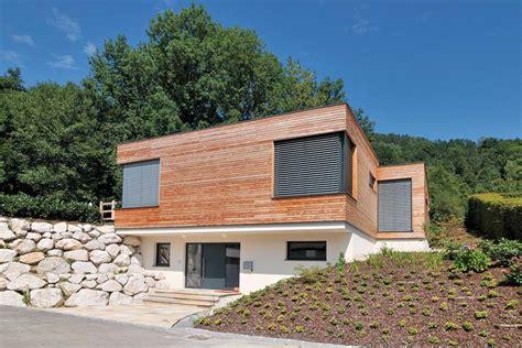 Holzhaus Am Hang by Moderne Holzh 228 User Am Hang Emphit