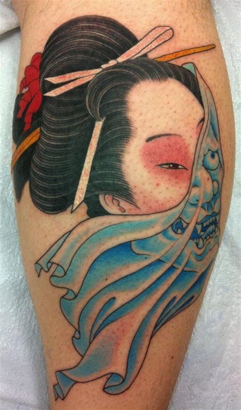 tattoo geisha significato by chris garver invisiblenyc usa tattooos bod mod