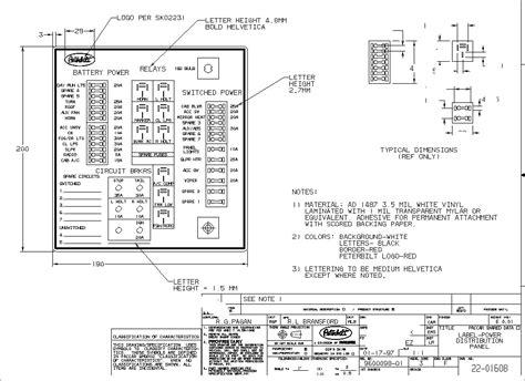 1997 peterbilt 357 wiring schematic peterbilt 389 wiring