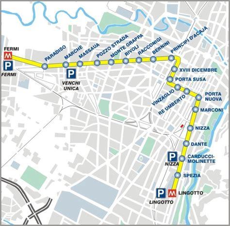 torino porta nuova mappa metropolitana