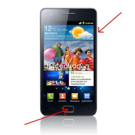 how to print screen on android como fazer print screen capturar ou fotografar ecr 227 no celular smartphone samsung galaxy s ii