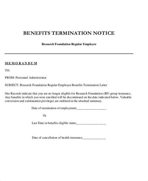 Service Benefit Letter cancellation letter of an insurance choice image