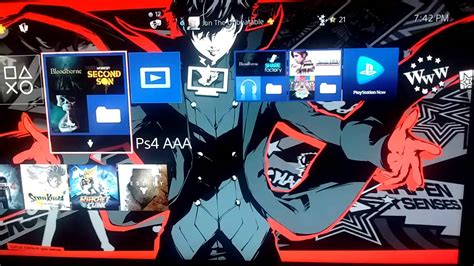 Ps4 Persona 5 exclusive persona 5 ps4 themes
