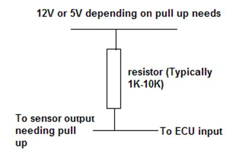 pull up resistor megasquirt ms v3 0 build manual