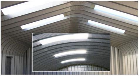 Garage Skylight by Metal Garage Kit Skylights Types Installing Metal