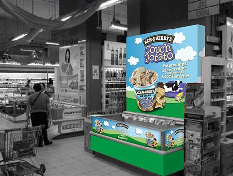couch potato ben and jerry s ben jerry s couch potato promotion on behance