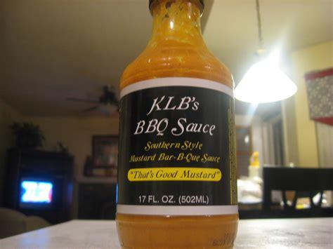 klb s that s good mustard bbq sauce big wayner s bbq blog