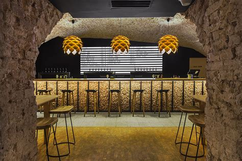 craft bar interior style project receives an