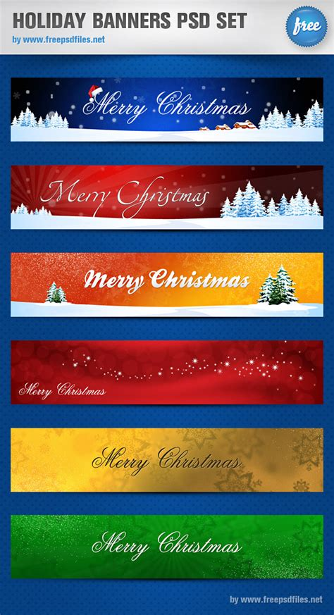 material design header psd 4 designer gorgeous christmas banner psd layered material