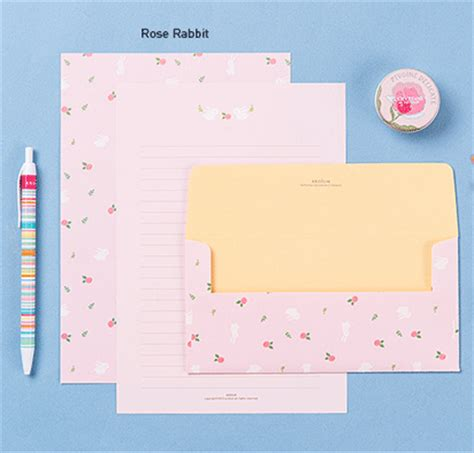pretty letter writing paper the magic notebook writing paper pastel letter set