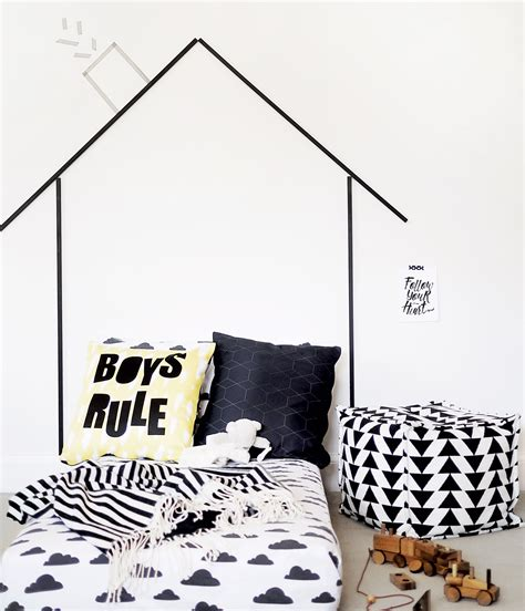 diy headboard a way for baby to transition to a big