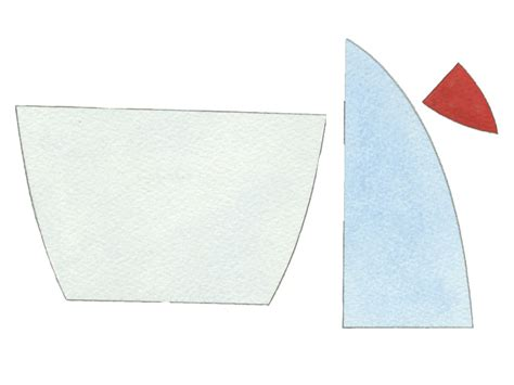 paper boat cut out template how to make a boat from balsa wood for seaside style at home