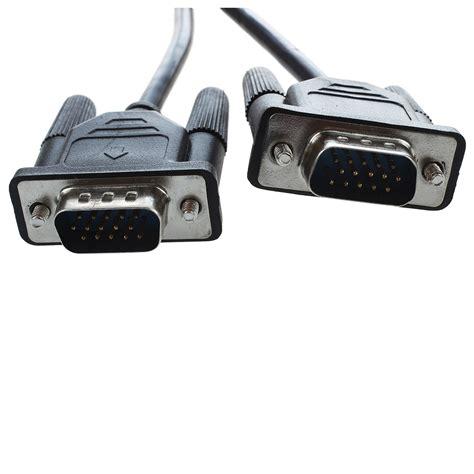Kabel Vga Komputer pc computer stecker auf stecker 15 pin vga m m kabel 1 0