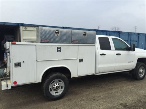 utility bed 2015 chevrolet silverado 2500hd work truck service body utility bed