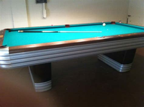 brunswick masterpiece pool table antique 8 pro brunswick balke collender centennial