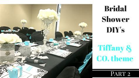 DIY Bridal Shower ~ Centerpieces, Vases and Serving Trays