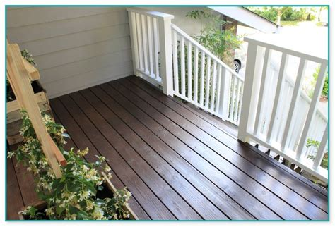 deck stain  pacific northwest