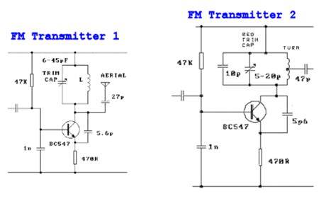 reactance transistor fm transmitter reactance transistor fm transmitter 28 images fm bug tank circuits as filters cb radio