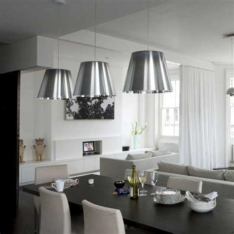 Dining Room Table Hanging Lights Contemporary Dining Room
