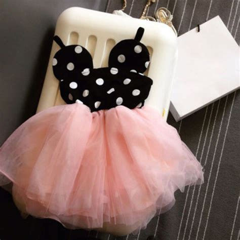 Baby Dress Newest 2016 Import 2016 new baby dress fashion minnie mouse dresses clothes toddler tutu dress