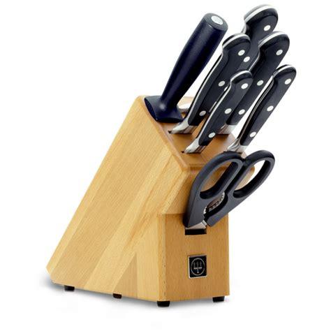 German Kitchen Knives Wusthof wusthof 8 piece classic knife block set 9835