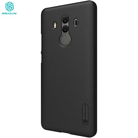 Folie Protectie Mate 10 Pro by Husa Huawei Mate 10 Pro Nillkin Frosted Shield Neagra Cu
