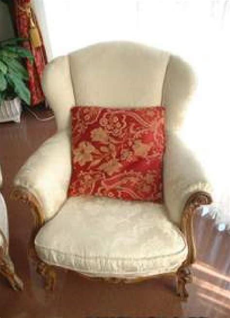 sofa estilo luis xv sof 225 y dos sillones estilo luis xv cod 14510 segunda mano