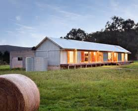 Modern Farmhouse Architecture modern wool shed pays homage to iconic australian architecture