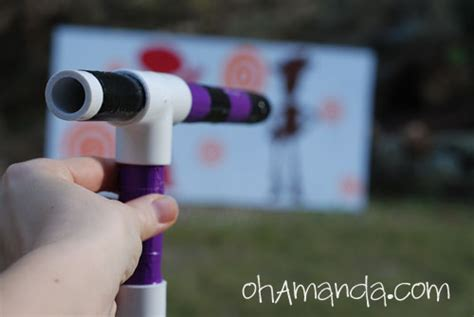 How To Make A Marshmallow Gun Out Of Paper - how to make a mini marshmallow shooter gun from pvc pipe