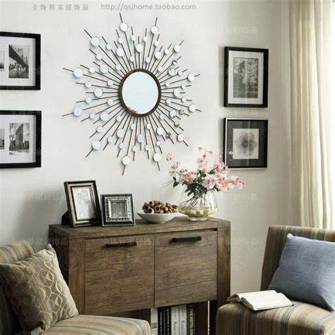 metal wall mirror decor modern mirrored wall wire wall