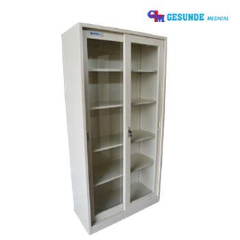 Lemari Instrumen 2 Pintu Besi Instrument Cabinet lemari rumah sakit lemari obat lemari instrumen toko
