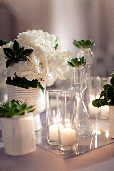White Wedding Centerpieces   Elizabeth Anne Designs: The