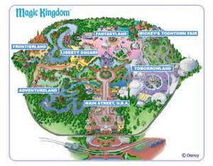 Map Of Magic Kingdom Disney World by Suxeirox Walt Disney World Magic Kingdom Logo