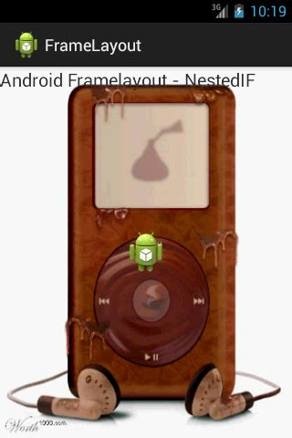 frame layout in android exle android framelayout exle nested if