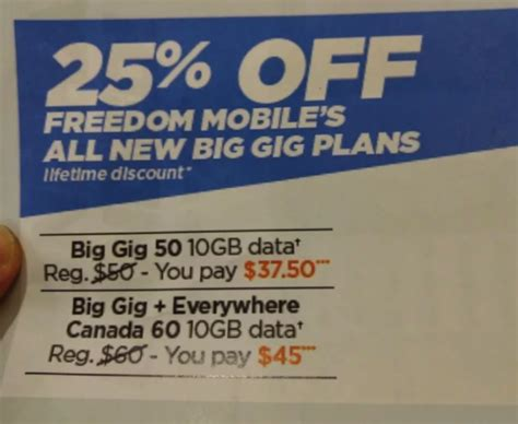 shaw new year promotion freedom mobile promo 25 plans 40 and up for
